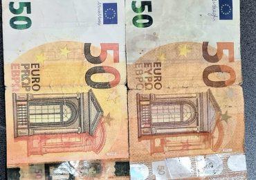 Un jandarm aflat în timpul liber a surprins o persoană care dorea să schimbe mai multe bancnote de euro false in Gara Oradea