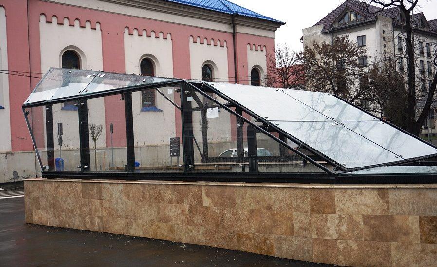 Pasajul pietonal Magheru va avea acoperis de sticla securizata