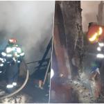 Sase incendii in 2 zile, in Oradea si alte 3 localitati din judetul Bihor
