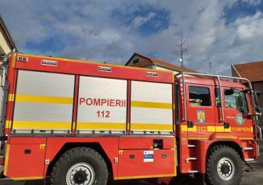 Pompierii bihoreni au fost dotati cu o autospeciala pentru lupta cu focul in padure.