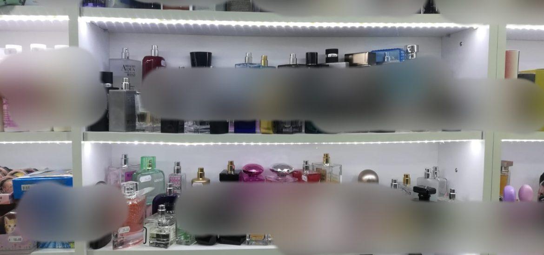 Aproape 600 de parfurmuri contrafacute, gasite la un magazin din Oradea.