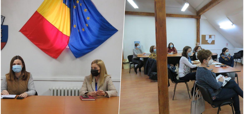 Anca Grama la intalnirea cu coordonatoarele creselor din Oradea: Trebuie sa protejam copiii prin respectarea cu strictețe a regulilor sanitare
