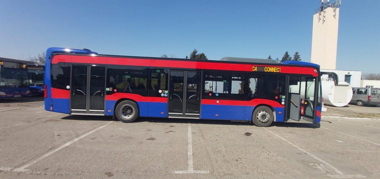 Parcul auto OTL se innoieste. Cinci autobuze Mercedes Citaro Hybrid au sosit azi in Oradea