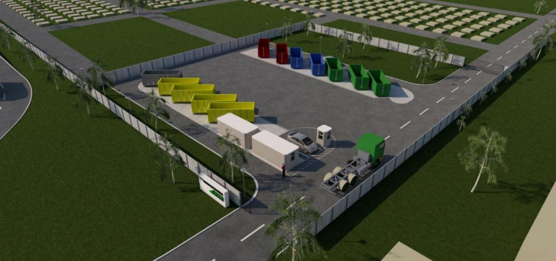 Centre de depozitare a deșeurilor în Marghita, Beiuș, Salonta și Aleșd