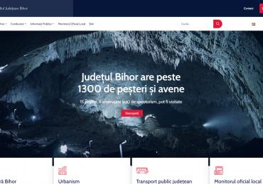 CJ Bihor are un website nou. Elegant, intuitiv, cu o estetica superioara celui vechi, in plus a fost tradus si in limba maghiara