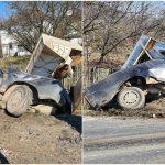 Accident grav in Topa de Cris, in urma unei coliziuni dintre un autoturism si un autocar. Soferul autoturismului a ajuns la spital cu multiple leziuni