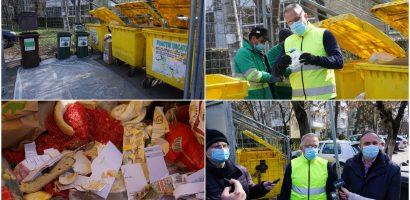 Începe campania de verificare a  modului de colectare selectivă a deșeurilor în zonele de case