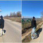Curățenie de primăvară în județul Bihor cu asistatii sociali apti de munca. Bihorul are 1600 de beneficiari de ajutor social apti de munca