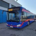 Oradea va avea 15 autobuze hibrid pentru transportul urban. Astazi a sosit primul dintre ele