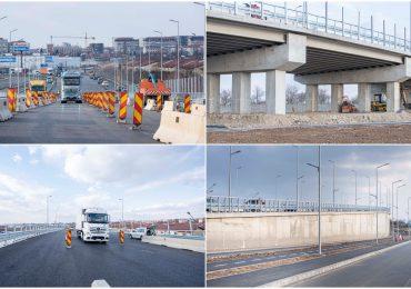 Primaria Oradea a mai construit un pasaj pe centura. Circulatia, desi inca restrictionata, a fost deschisa vineri, 19 martie 2021