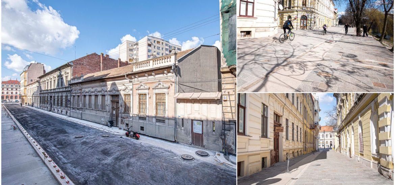 Lucrările de reabilitare a străzilor Iosif Vulcan, Nicolae Grigorescu si Libertății, din Oradea, se apropie de final