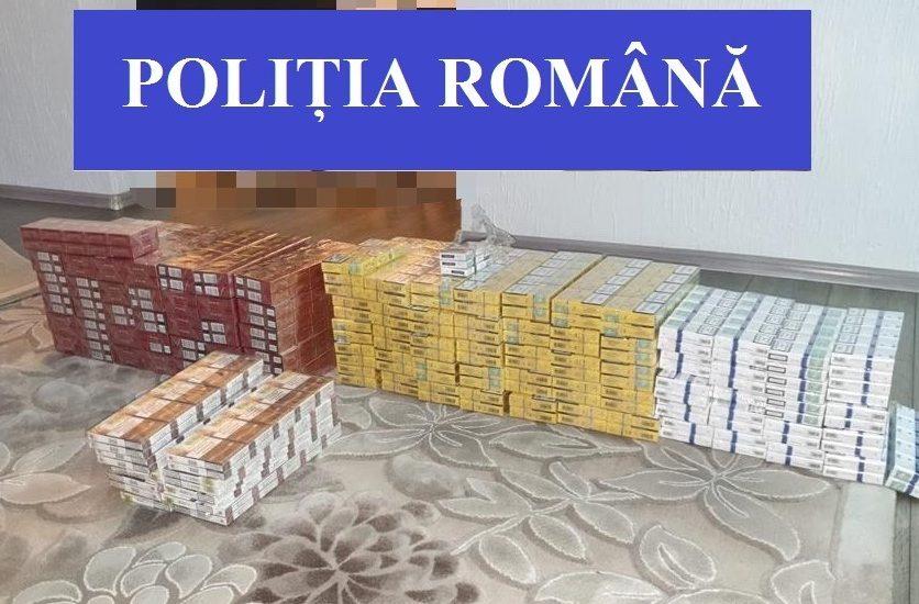 Doi orădeni au fost prinși în flagrant de polițiștii bihoreni în timp ce încercau să comercializeze țigarete de contrabandă, într-o piață din Oradea.