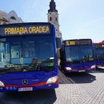 Flota de autobuze hibrid a Oradiei s-a marit la 22. Ultimele 9 autobuze Mercedes Citaro Hybrid au sosit sambata