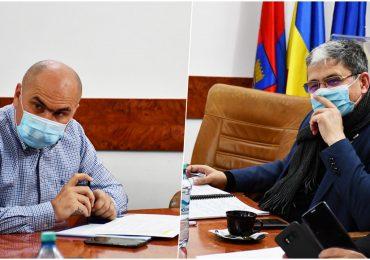 Intalnire Bolojan – Bolos, la Oradea, pentru pregătirea portofoliului de proiecte pentru perioada 2021-2027