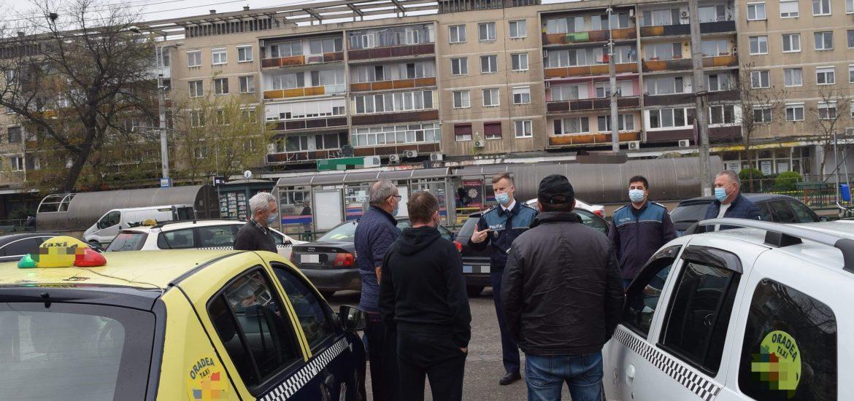 Polițiștii de prevenire bihoreni acționează pe raza municipiului Oradea, pentru a preveni victimizarea taximetriștilor printr-un nou tip de înșelăciune