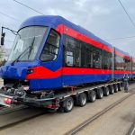 A mai sosit un tramvai Imperio din cele 10 contractate pe anul 2021, in Oradea