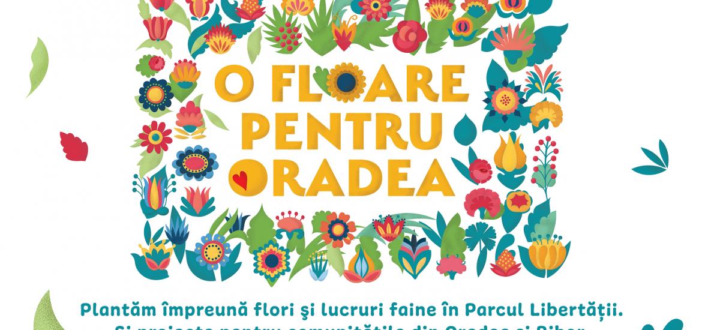 Fundația Comunitară Oradea lansează campania O floare pentru Oradea