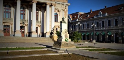 Statuia lui Szigligeti Ede din Piața Ferdinand va fi restaurată