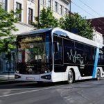 Primul autobuz elecctric produs in Romania, va fi testat in Oradea timp de o luna
