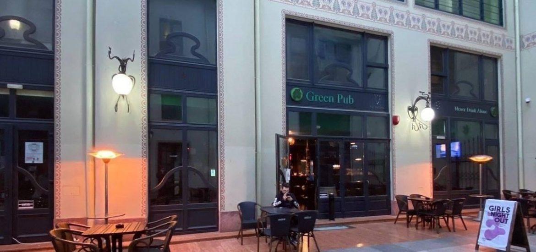 Dupa vaccin, #hailagreen! Green Pub ofera oradenilor care s-au vaccinat cate o cafea din partea casei