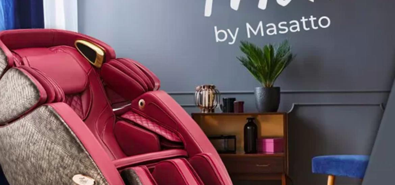 Fotoliul de masaj dorit, de la Masatto, la tine acasa