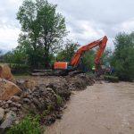 Inundatiile din judetul Bihor au produs pagube in 56 de localitati