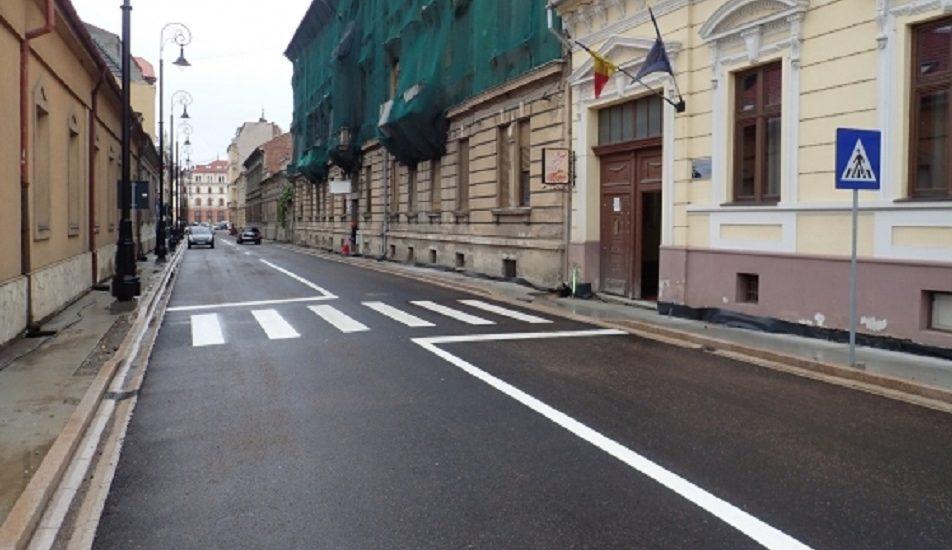 Se deschide circulatia rutiera pe strada Iosif Vulcan din Oradea