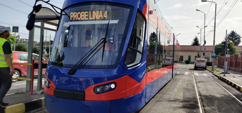 A sosit inca un tramvai Imperio. Este al 16-lea din totalul de 20 comandate de Primaria Oradea.