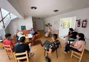 Anca Grama: Suntem alături de tinerii din Centrul Social Dignitas, încurajându-i să ia cele mai bune decizii