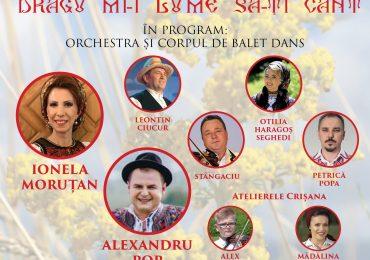 Concert folcloric sustinut de Ansamblul Crisana la Teatrul Regina Maria