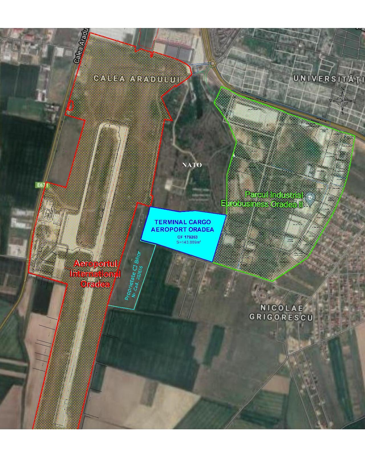 terminal cargo aeroportul Oradea