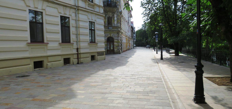 A fost finalizata reamenajarea zonei Libertatii din Oradea