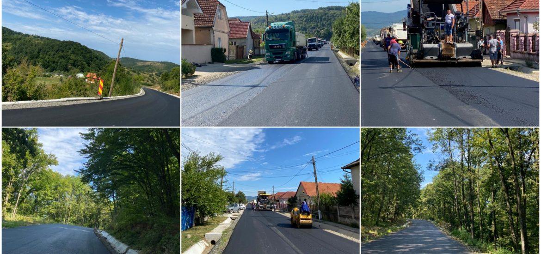 Ilie Bolojan: A fost finalizata asfaltarea drumului judetean ce trece prin Astileu. Continuăm lucrările în zona Cornet, Tomnatec şi Zece Hotare