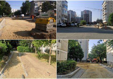 Parcări și alei noi în perimetrul străzilor Calea Aradului, Xenopol, H. Coandă din Oradea