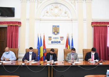 Inca un pas pentru realizarea Drumului Expres Oradea-Arad. A fost semnat contractul pentru realizarea Proiectului Tehnic