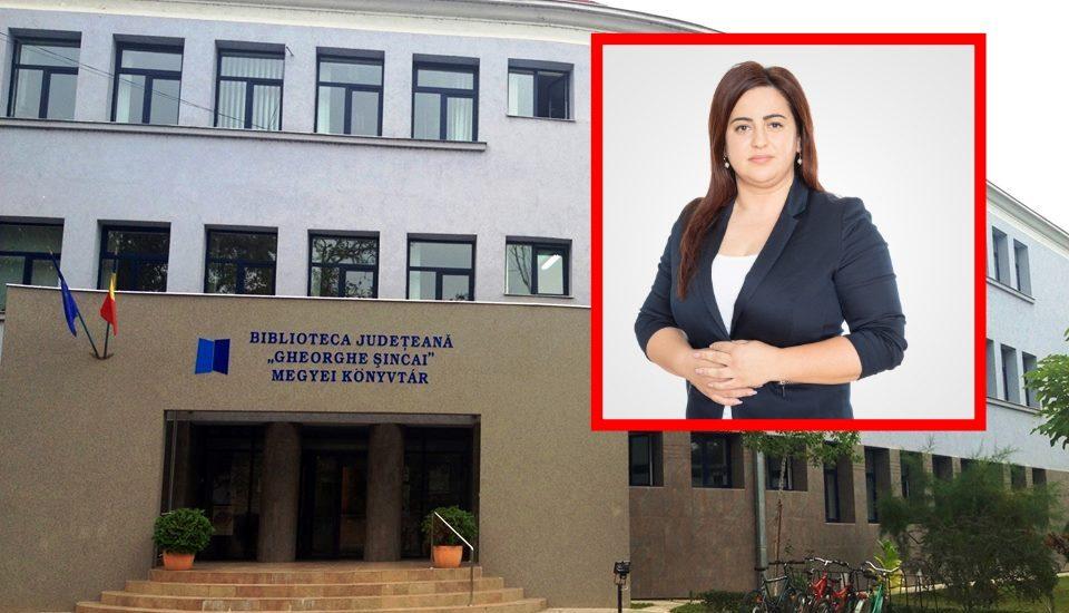 """Manager nou la Biblioteca Județeană """"Gheorghe Șincai"""""""