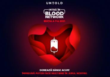 Donezi sange si castigi un bilet de o zi la UNTOLD. CaravanamobilăBLOOD NETWORK se va afla în Oradea, în Piața Unirii, sambata si duminica, 7-8 august,între orele 08.00-14.00.
