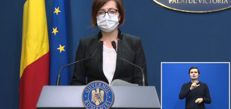 Ioana Mihaila: Guvernul va acorda vouchere de 100 lei pentru cei care se vaccineaza cu schema completa