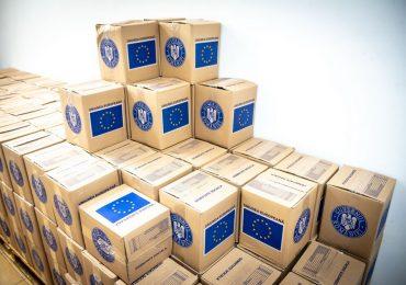Din septembrie 2021 persoanele defavorizate vor primi, din nou, pachete cu alimente si produse de igiena