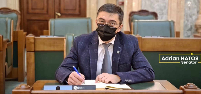 Raportul de activitate al senatorului PNL, Adrian Hatos, președinte al Comisiei pentru știință, inovare și tehnologie din Senat, la finalul primei sesiuni parlamentare