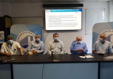 Premieră medicală la Oradea. Un baietel de 2 ani a fost operat, avand o malformatie rara