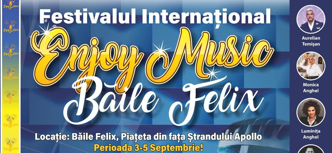 """Paula Seling, Luminița Anghel, Nico, Aurelian Temișan  vor participa la prima ediție a Festivalului Internațional de Muzică Ușoară """"Enjoy Music"""" Băile Felix"""