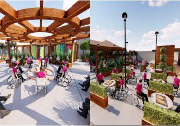 Tinerii cu nevoi speciale din Oradea vor putea socializa într-o grădină incluzivă