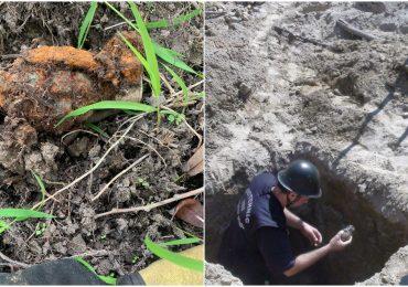 Grenadă descoperită pe malul Crișului Repede, pe raza străzii Splaiul Crișanei din Oradea