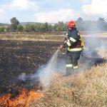12 incendii în ultimele 24 de ore, in judetul Bihor. Peste 125 de hectare de teren afectate