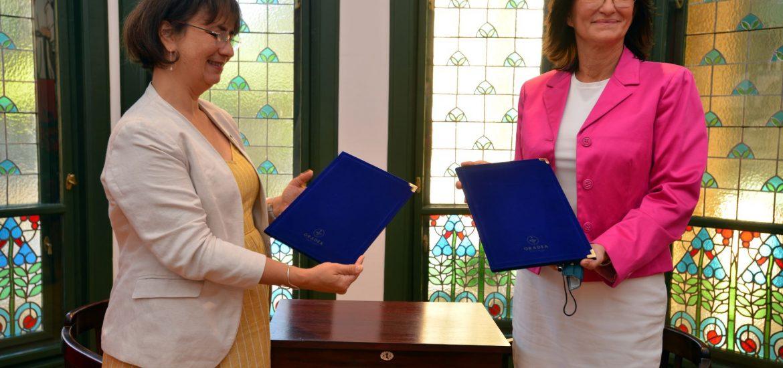 Casa Darvas – La Roche, gazda semnării unui protocol între Institutul Național de Protecție a Monumentelor Culturale din Serbia și Institutul Național al Patrimoniului