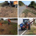 Ilie Bolojan: Și în lunile de toamnă se fac lucrări de curățenie pe drumurile publice ale județului Bihor.