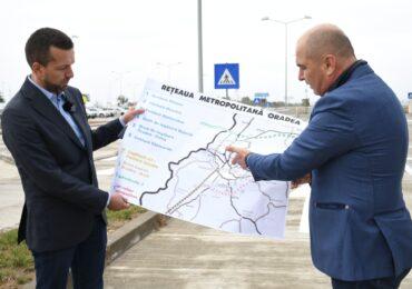 Bolojan: Vom construi un inel rutier metropolitan lung de 20 de km, in partea de sud a Oradiei