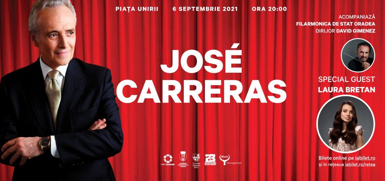 S-au suplimentat locurile pentru concertul José Carreras