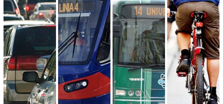 Bicicleta, tramvai, autoturism si autobuz – concurs inedit in Oradea, desfasurat de OTL. Cine a ajuns primul la destinatie